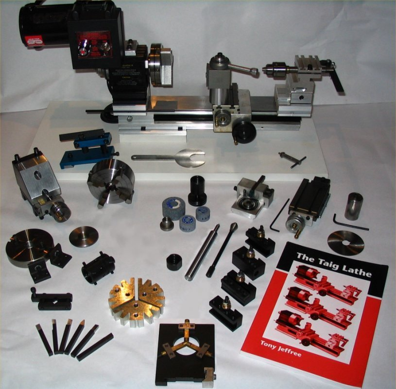 Taig PLATINUM Jewellers Lathe Package