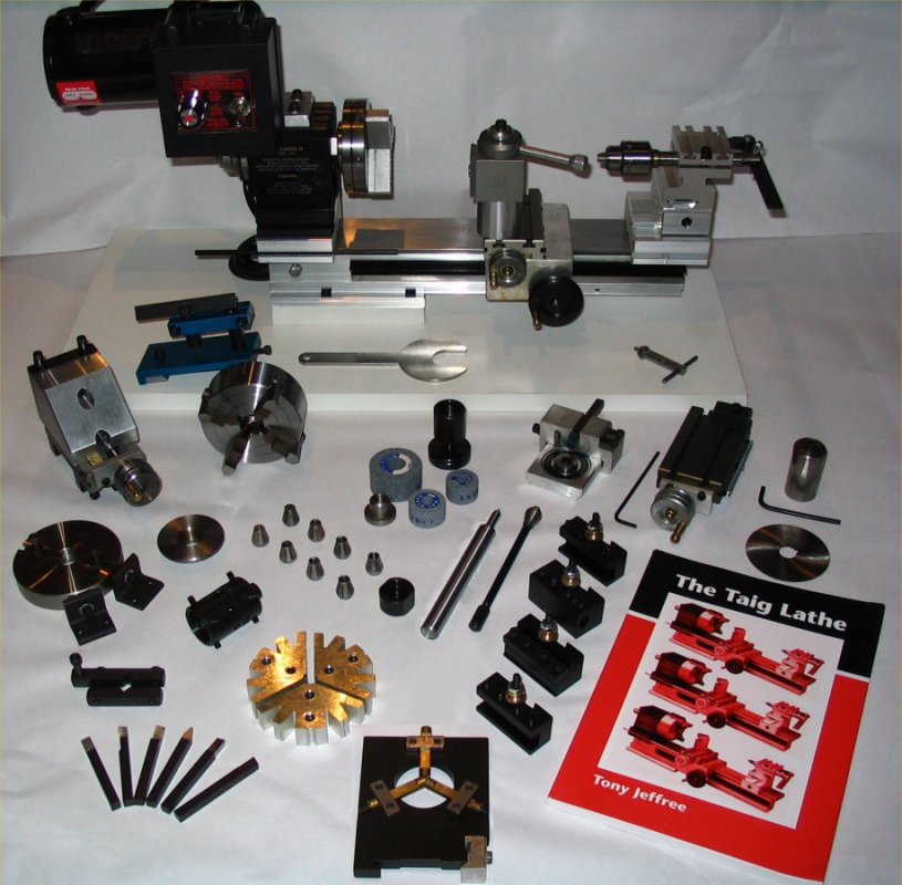 Taig PLATINUM Lathe Package