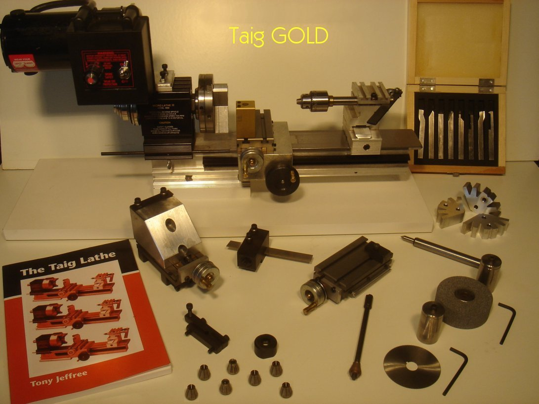 Taig GOLD Lathe Package