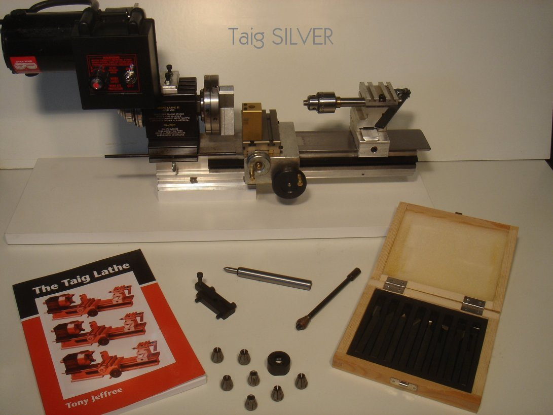 Taig SILVER Lathe Package