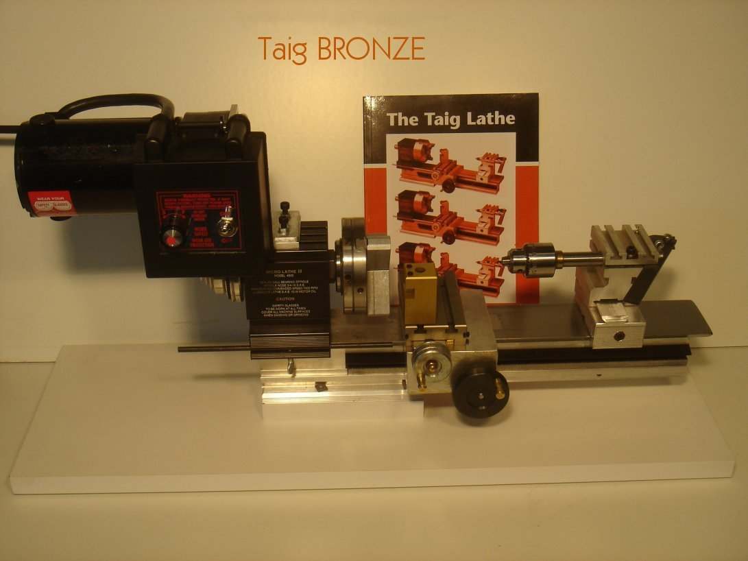 Taig BRONZE Lathe Package