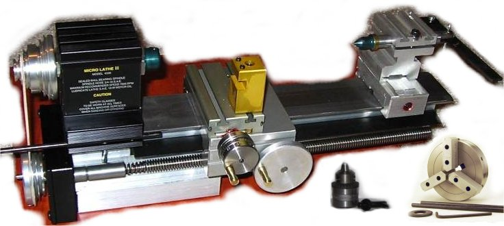Taig Micro Lathe II Power Feed Kit