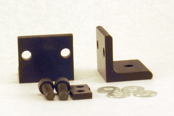Face Plate Angle Bracket Set