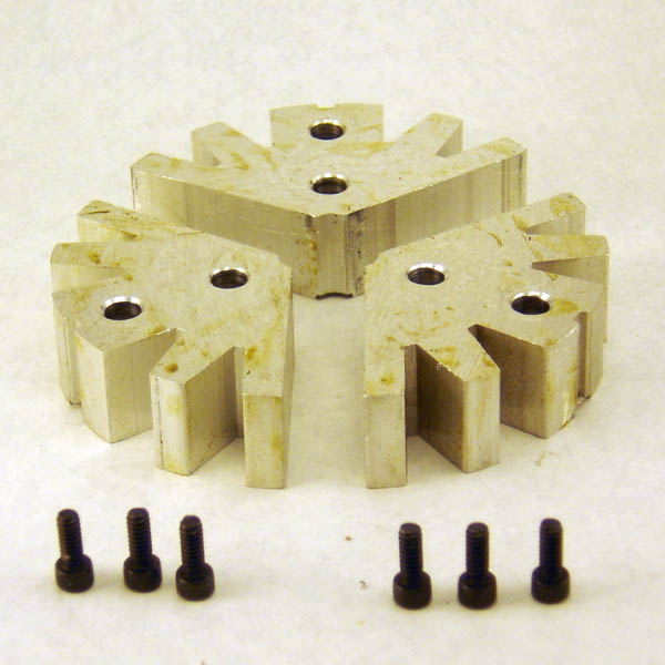 Full Circle Soft Jaw Set For 3 Jaw Chuck