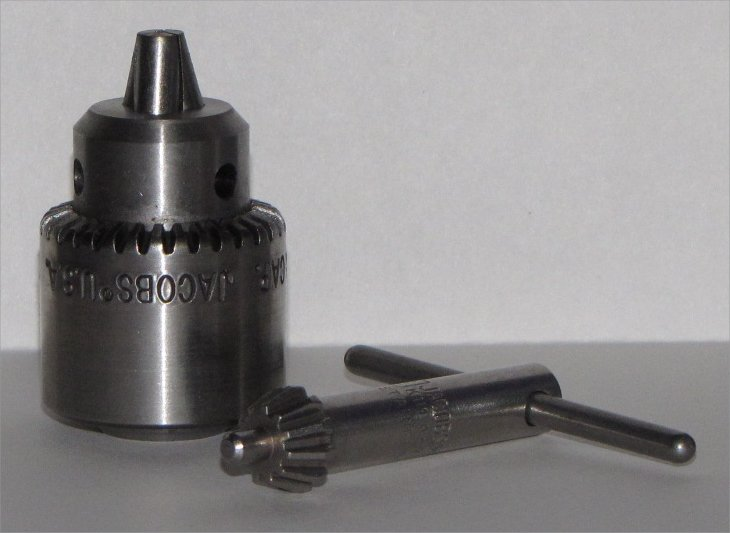 1/4 inch Jacobs Drill Chuck 3/8 24 thread Industrial Std