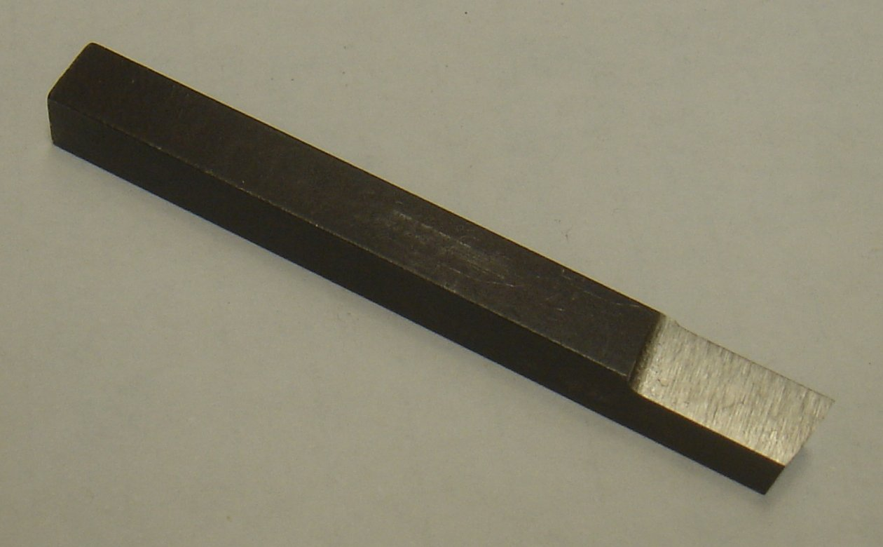 Toolbit 1/4 inch Square HSS Cut Off