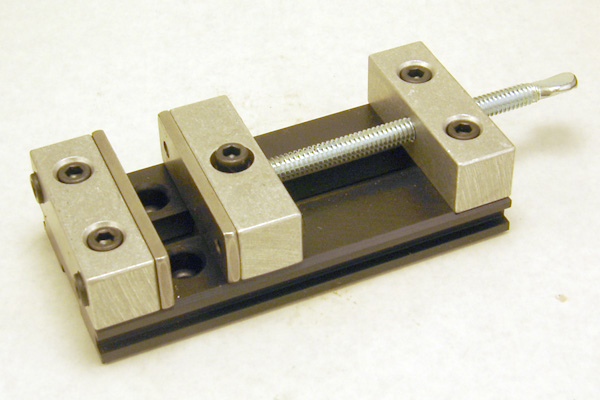 Milling Vice (1.25 inch opening x 2 inch wide)