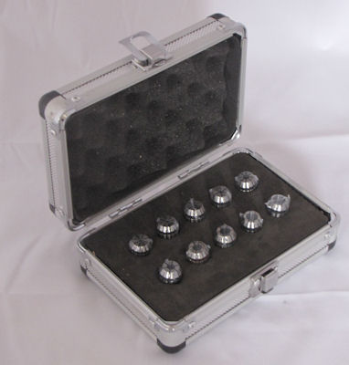 ER16 Metric Collet set - 10 piece
